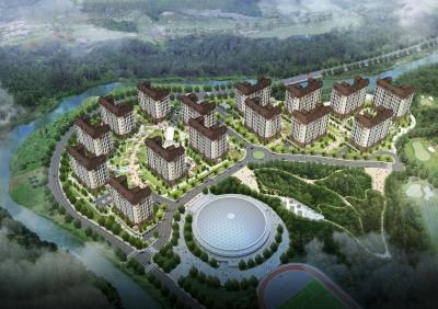 2018 평창 동계올림픽 선수촌아파트 신축공사