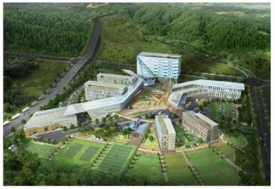 한국산업안전보건공단 지방이전 신사옥건립 건축공사