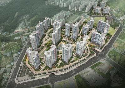 대전 판암동 도시개발사업 A1, A2BL 공동주택